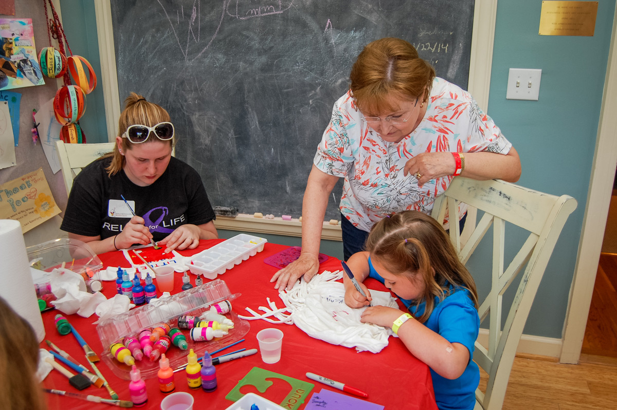 Arts & Crafts at Ronald McDonald House of Winston Salem